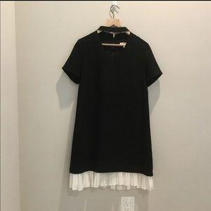 Nanette Lepore Black And Cream Dress
